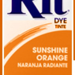DYE RIT POWDER 1-1/8 oz. SUNSHINE ORANGE