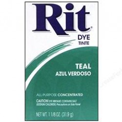 DYE RIT POWDER 1-1/8 oz. TEAL