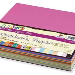 "SCRAPBOOK PAPER  ACID FREE SUPER VALUE 160ct 12"" X 12"""