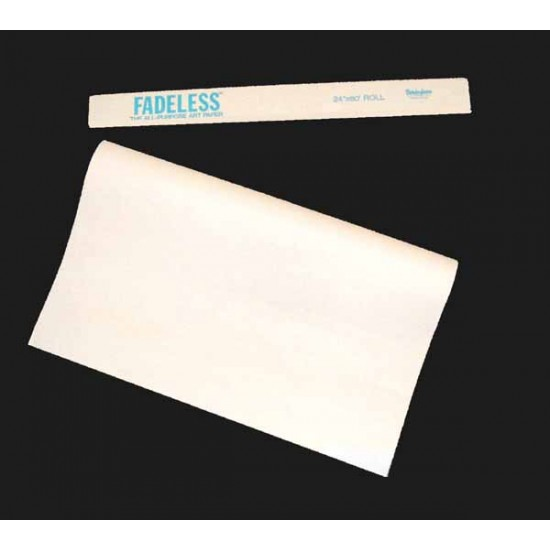 "ART ROLLS FADELESS®  24"" X 60'  BRIGHT WHITE"