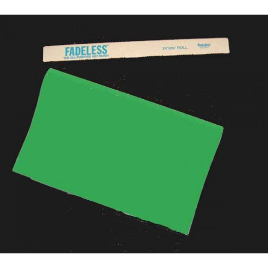 "ART ROLLS FADELESS®  24"" X 60' APPLE GREEN"