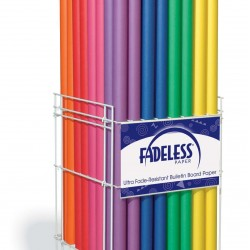 "ART ROLLS FADELESS®  48"" X 50'  FLAME (FESTIVE RED)"