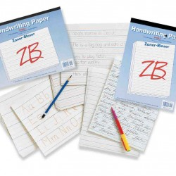 HANDWRITING TABLET ZANER BLOSER 4TH GRADE 50 CT DISC WHEN OU