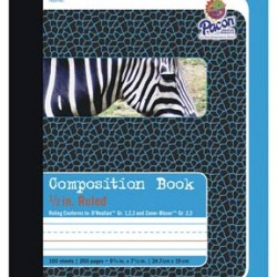 "COMPOSITION BOOKS PRIMARY RULED 1/2"" PACON BRAND"