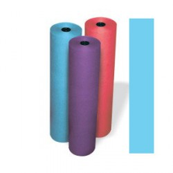 "ART ROLLS RAINBOW KRAFT LT WEIGHT 36"" X 1000' SKY BLUE"