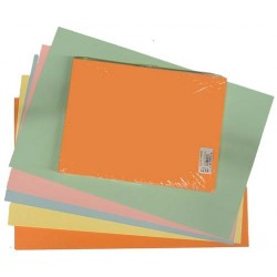 "TAGBOARD  ASSORTED COLORS 100ct  9"" X 12"""