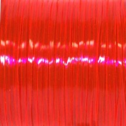 LACING GIMP 100 YARD SPOOL PLASTIC REXLACE  CLEAR RED