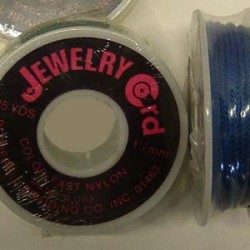 JEWELRY CORD PEPPERELL  25 YDS  36 SPOOL ROYAL BLUE