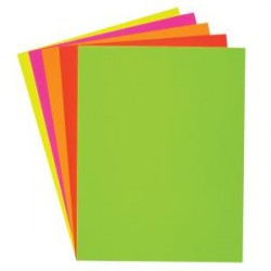 "POSTER BOARD FLUORESCENT 22"" X 28"" 25 / CASE"