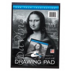 SKETCH BOOK DRAWING PAD 9 X 12 50ct