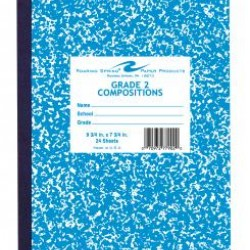 "COMPOSITION BOOKS GRADE 2 RULED BLUE     9.75"" X 7.75""  24 ct"