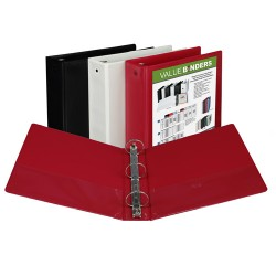 "BINDER SAMSILL INSERTABLE VIEW COVER   2"" ASSORTED COLORS"