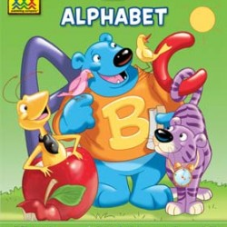 "WORKBOOKS ""I KNOW IT!"" 32 pg ALPHABET K-1"