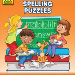"""WORKBOOKS """"I KNOW IT!"""" 32 pg SPELLING PUZZLES 2"""