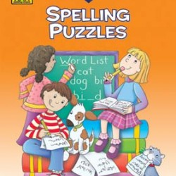 """WORKBOOKS """"I KNOW IT!"""" 32 pg SPELLING PUZZLES 3-4"""