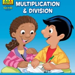 "WORKBOOKS ""I KNOW IT!"" 32 pg MULTIPLICATION & DIVISION 3-4"