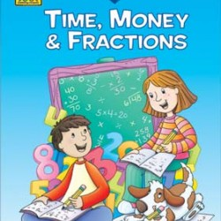 """WORKBOOKS """"I KNOW IT!"""" 32 pg TIME, MONEY, FRACTIONS 1-2"""