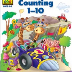"WORKBOOKS ""GET READY!"" PRESCHOOL COUNTING 1-10"