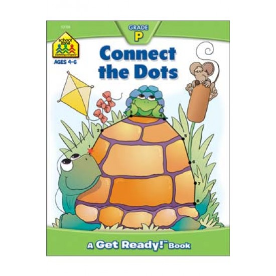 "WORKBOOKS ""GET READY!"" PRESCHOOL CONNECT THE DOTS"