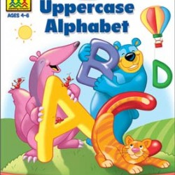 "WORKBOOKS ""GET READY!"" PRESCHOOL UPPERCASE ALPHABET"
