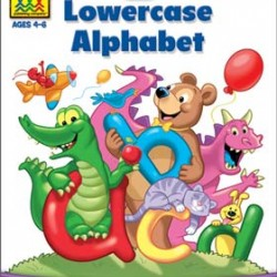 "WORKBOOKS ""GET READY!"" PRESCHOOL LOWERCASE ALPHABET"