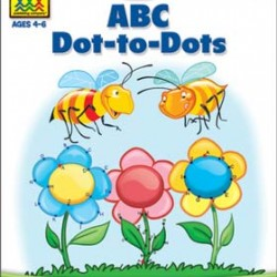 "WORKBOOKS ""GET READY!"" PRESCHOOL ABC DOT-TO-DOT"