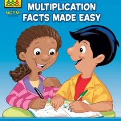 "WORKBOOKS ""I KNOW IT!"" 32 pg MULTIPLICATION MADE EASY"