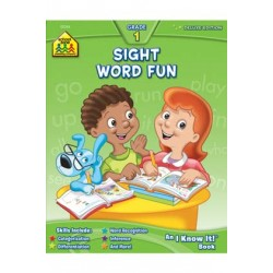 WORKBOOKS DELUXE 64 PG SIGHT WORD FUN