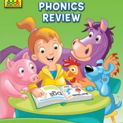 WORKBOOKS DELUXE 64 pg BLENDS & PHONICS REVIEW 1-3