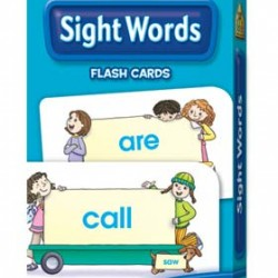 FLASH CARDS SCHOOL ZONE 56 CT BEGINNING SIGHT WORDS