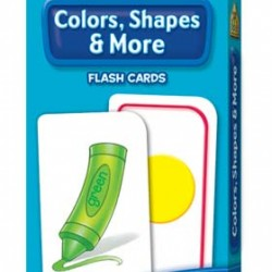 FLASH CARDS SCHOOL ZONE 56 CT COLORS, SHAPES & MORE
