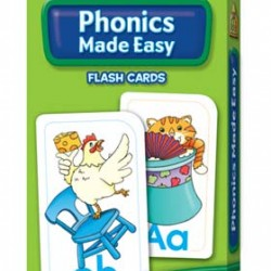FLASH CARDS SCHOOL ZONE 56 CT PHONICS MADE EASY