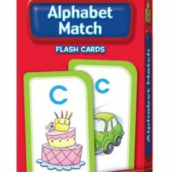 FLASH CARDS SCHOOL ZONE 56 CT ALPHABET MATCH