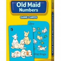GAME CARDS SCHOOL ZONE 56ct OLD MAID