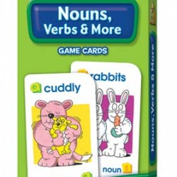 FLASH CARDS SCHOOL ZONE 56 CT NOUNS AND VERBS