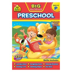 "WORKBOOK ""BIG GET READY!"" PRESCHOOL"