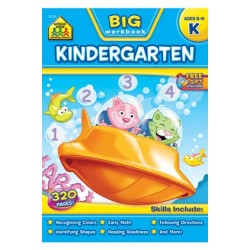 "WORKBOOK ""BIG GET READY!"" KINDERGARTEN"