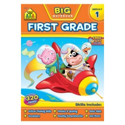 "WORKBOOK ""BIG GET READY!"" FIRST GRADE"
