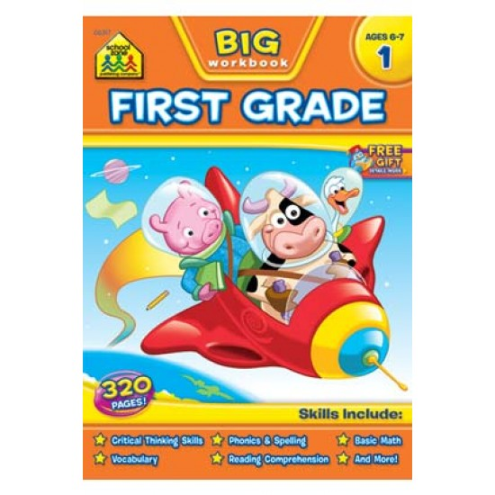 "BOOKS ""BIG GET READY!"" FIRST GRADE"