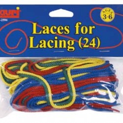 "LACES FOR LACING 36"" 24 pk."