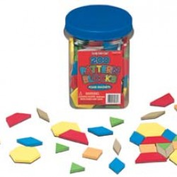 PATTERN BLOCKS FOAM MAGNETIC