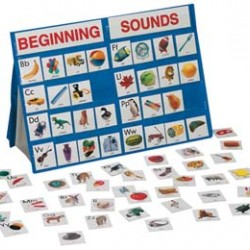 POCKET CHART  BEGINNING SOUNDS 18X13 TABLE-TOP K-3