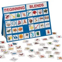 POCKET CHART BEGINNING BLENDS & DIGRAPHS  18X13