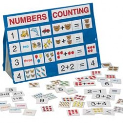 POCKET CHART NUMBERS & COUNTING  18X13