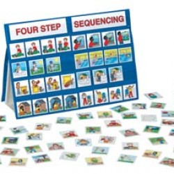 POCKET CHART FOUR-STEP SEQUENCING  18X13