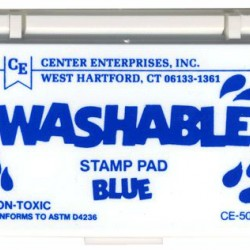 STAMP PADS WASHABLE BLUE CE504