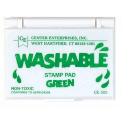STAMP PAD WASHABLE GREEN CE503