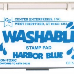 STAMP PADS WASHABLE HARBOR BLUE CE512