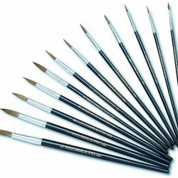 BRUSHES WATER COLOR TAPERED CAMEL HAIR # 1 - 3/8""