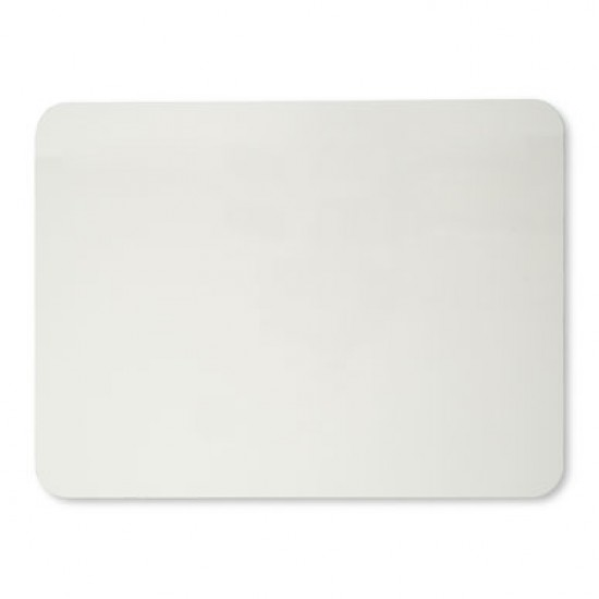 "DRY ERASE BOARD 9"" x 12"" Plain White Surface from Cli"